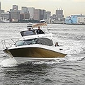 トヨタ自動車が発売した新型プレジャーボート「PONAM(ポーナム)31」。