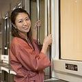 女性専用フロアやシャワールーム、洗面化粧室などが完備されたところが人気