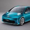世界最高の「リッター40キロ」を実現!(写真は、2011北米国際オートショーでトヨタが発表したコンセプトカー「プリウスC」)
