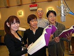 人気声優の田村ゆかりさんらが出演