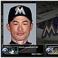 球団公式サイトに掲載されたイチロー外野手のユニホーム姿(画像はサイトのスクリーンショットです)