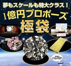 1セット限定のプロポーズ福袋1億円で発売 37カラットダイヤ付き