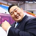 現在、モンゴル・レスリング協会会長として競技の普及・強化に尽力している元横綱・朝青龍