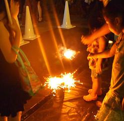 代官山T-SITEで「小さな花火大会」開催