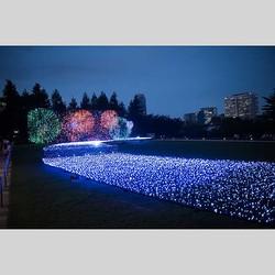 イルミネーションの花火や屋外カフェで涼を満喫!東京ミッドタウンの夏イベント開催