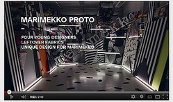 【動画】マリメッコの残布で4人の若手デザイナーがユニークな作品発表