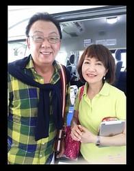 梅沢富美男と妻の明子さん(出典:http://ameblo.jp/umeza-watomio)