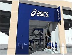 アシックス、ロンドンオリンピック直前に世界最大ストアを出店