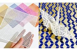 レーザー加工の技術で作られた「千代切紙」が繊細で美しい…町の文具メーカーに詳しく聞いてみた!