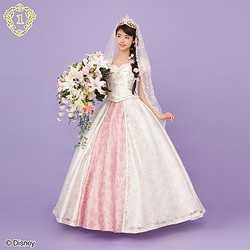 Tangled|Bride Dress(Rapunzel ver.) 53000+税|※Pannier 3800+税 ©Disney