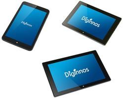 ドスパラから最新CPU搭載のWindows 8.1搭載タブレット「Diginnos」の新ラインアップ