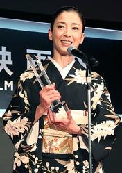 『紙の月』で最優秀女優賞を受賞した宮沢りえ