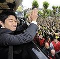 香川の復帰にサポーターも歓喜