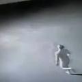 全裸男が駐車場で前代未聞の大暴れ 全速力で車に突っ込む