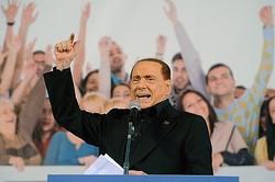 批判はいやだよ。 - ベルルスコーニ元首相  - Roberto Serra - Iguana Press / Getty Images