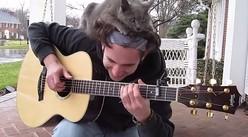 """【猫】可愛いから許しちゃう! ギター弾きとにゃんこの""""ほのぼのバトル""""3選"""