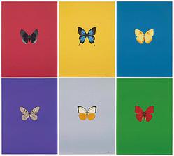 ダミアン・ハーストなど5人の英国アーティスト作品展 開催