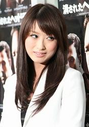 藤川優里(写真は映画の試写会イベントの物)