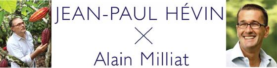 フランスで話題のアラン・ミリアによる″秋洋梨ジュース″とジャン=ポール・エヴァンがコラボ