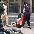中国で続く正妻による愛人攻撃(出典:http://www.weibo.com)