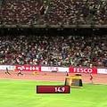 世界陸上競技選手権大会・男子400m決勝(画像はYouTubeのサムネイル)