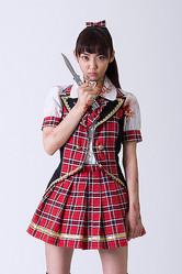 沙奈役の山谷花純 ©2016「シンデレラゲーム」製作委員会