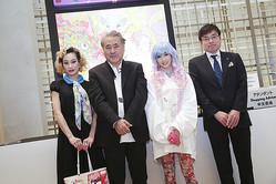 銀座三越で天野喜孝「CANDY GIRL」限定アイテム発売開始。マドモアゼル・ユリア、アローディアも駆けつける!