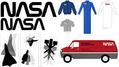 無料で1970年代NASAのロゴや出版物のデザイン資料がダウンロード可能に