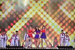 EXID ハニ&AOA ソリョン&TWICE ツウィ「2016 MBC歌謡大祭典」で再びコラボステージを披露