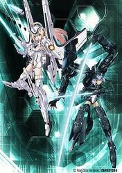 TVアニメ『武装神姫』、2012年10月放送開始! 音楽は織田哲郎氏が担当
