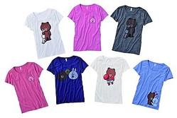 LINEオリジナルキャラ初のTシャツ、ライトオンが独占販売