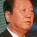 「ネット党首討論」に出席した小沢氏(16年6月19日撮影)