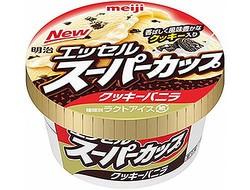 スーパーカップの超人気味再び、季節味で最も売れる「クッキーバニラ」。