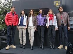 ランボルギーニ、南青山のXmas限定カフェでファッションショー