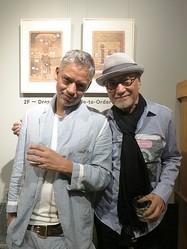 バリー・ケイマンのアート展 アトリエ併設「タケオキクチ」路面店で開催