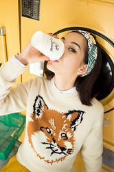 メゾンキツネの女性モデルに水原希子、東京で撮影