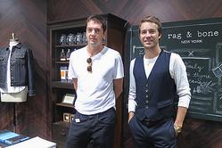 NY「ラグ & ボーン」デザイナー来日 名作コラボ集めた世界初の限定店が東京に