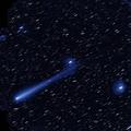 アイソン彗星(画像上が北、左が東) ⓒHSC Project/NAOJ