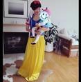 """ハロウィンに""""白雪姫""""の衣装を用意した田丸麻紀(画像は『田丸麻紀 Instagram』より)"""