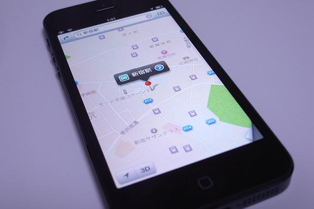 iPhone 5のしょぼいマップアプリじゃ物足りない!?iOS 6でいままで通りのGoogleマップを利用する方法【ハウツー】