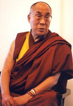 チベット亡命政府の最高指導者のダライ・ラマ14世。11月に広島国際平和会議で市民と対話する予定。