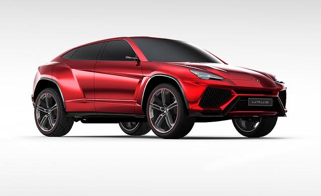 ランボルギーニがSUV コンセプトカー『ウルス (Urus)』を発表!