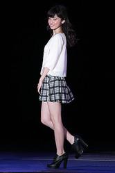 久慈暁子。「non・no」モデルオーディションで、グランプリを獲得した。