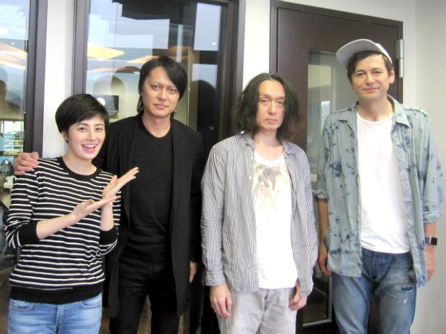 9月28日にニューアルバム『アトム 未来派 No.9』をリリースする、BUCK,TICKから櫻井敦司さん、今井寿さんが、9月24日土曜日、TOKYO  FMの半蔵門アースギャラリーに