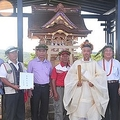 台湾で日本統治時代の神社が再建される 李登輝元総統からもお祝いの書