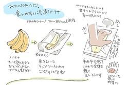 冷凍 ごと バナナ 皮 バナナを冷凍するベストな方法