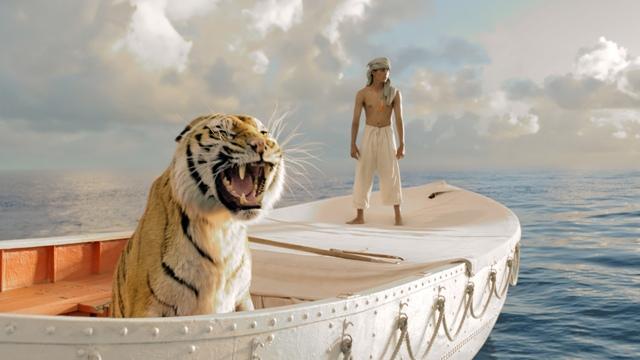 『ライフ・オブ・パイ/トラと漂流した227日』 (C) 2012 TWENTIETH CENTURY FOX FILM