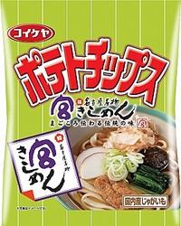 『コイケヤポテトチップス 宮きしめん』