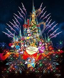 今年11月8日〜12月25日のクリスマス期間中に実施される「ディズニー・ギフト・オブ・クリスマス」のイメージ画像