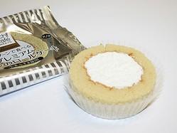 10月23日(火)発売、「プレミアムブランのロールケーキ(小麦ふすま使用)」140円